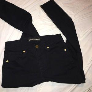 E21 - Express Black Skinny jeans